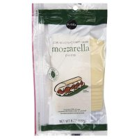Store Brand Deli Packaged Sliced Part-Skim Mozzarella Cheese 8CT 6oz PKG