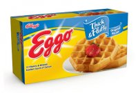 Eggo Thick & Fluffy Original Waffles 6CT 11.6oz Box