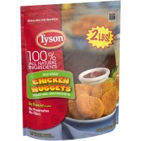 Tyson Chicken Nuggets 100% Natural Frozen 32oz Bag