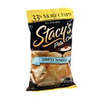 Stacy's Simply Naked All Natural Pita Chips 8oz Bag product image