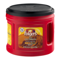 Folgers Coffee 100% Colombian Ground Medium Dark 24.2oz Can