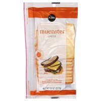 Store Brand Deli Packaged Sliced Muenster Cheese 8CT 6oz PKG