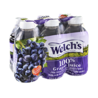 Welch's Grape 100% Juice From Concentrate 6PK of 10oz BTLS product image