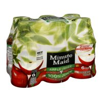 Minute Maid Apple 100% Juice From Concentrate 6PK of 10oz BTLS product image