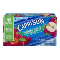 Capri Sun Beverage Mountain Cooler 10CT of 6oz EA product image
