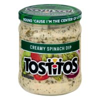 Tostitos Creamy Spinach Dip 15oz Jar
