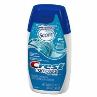 Crest Complete Whitening plus Scope Cool Peppermint Liquid Gel Toothpaste 4.6oz PKG