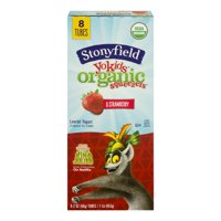 Stonyfield Farm YoKids Squeezers Strawberry 8CT 2oz Tubes