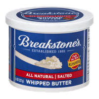 Breakstones Whipped Salted Butter 8oz Tub product image