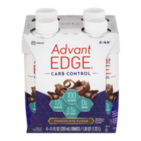EAS AdvantEDGE Carb Control High Protein Drink Milk Chocolate 4PK of 11oz EA product image