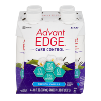 EAS AdvantEDGE Carb Control High Protein Drink French Vanilla 4PK of 11oz EA product image