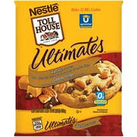 Nestle Toll House Cookie Dough Ultimates Pecan Turtle Cookies 12CT 16oz PKG