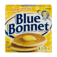 Blue Bonnet Margarine Sticks  4 Quarters 1LB Box