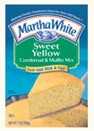 Martha White Sweet Yellow Cornbread & Muffin Mix 7oz Pouch