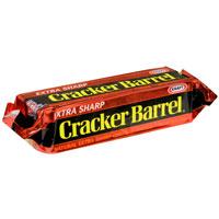 Cracker Barrel Cheese Extra Sharp Natural Cheddar Yellow 8oz Bar