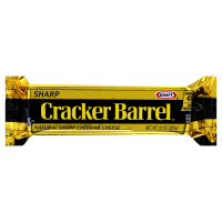 Cracker Barrel Cheese Sharp Natural Cheddar Yellow 8oz Bar