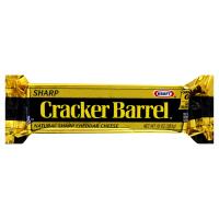 Cracker Barrel Cheese Sharp Natural Cheddar Yellow 8oz Bar product image