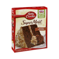 General Mills Betty Crocker Super Moist Cake Mix German Chocolate 15.25oz Box