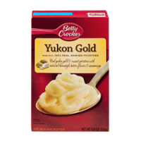 Betty Crocker Potatoes Mashed Yukon Gold 4.8oz Box