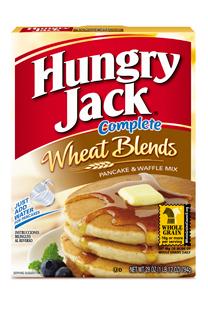 Hungry Jack Complete Pancake & Waffle Mix Wheat Blends 28oz Box