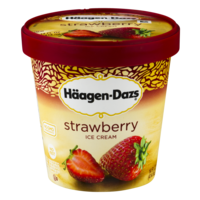 Haagen Dazs Ice Cream Strawberry 14oz PKG