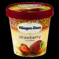 Haagen Dazs Ice Cream Strawberry 14oz PKG