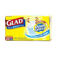 Glad Odor Shield Tall Kitchen Bags 13 Gallon 20CT