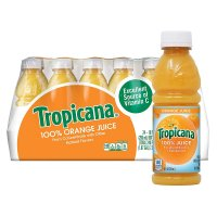 Tropicana 100% Orange Juice 10oz EA 24CT BTLS