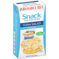 Bumble Bee Snack on the Run Tuna Salad with Crackers 3.5oz PKG product image