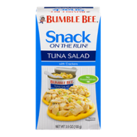 Bumble Bee Snack on the Run Tuna Salad with Crackers 3.5oz PKG