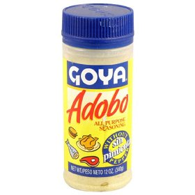 Goya Adobo All Purpose Seasoning without Pepper 8oz PKG