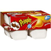 Pringles Snack Stacks Original Potato Crisps .67oz EA 8CT 5.36oz PKG