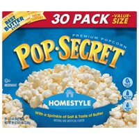 Pop-Secret Homestyle Popcorn 30CT of 3.5oz Bags 98oz PKG product image