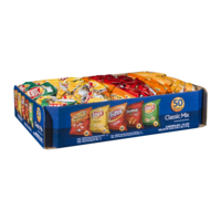 Frito Lay Classic Mix Variety Chips 50CT 1oz EA 50oz PKG