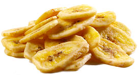 Store Brand All Natural Banana Chips 15oz PKG