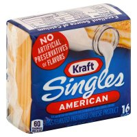 Kraft American Cheese Singles 16 CT 12oz PKG