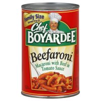 Chef Boyardee Beefaroni 40oz Can