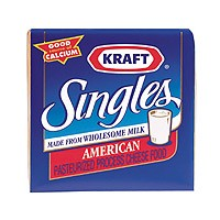 Kraft American Cheese Singles 24CT 16oz PKG