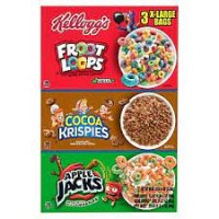 Kellogg's Tri  Pack 43oz Box