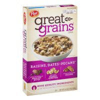 Post Selects Great Grains Raisins, Dates & Pecans Whole Grain Cereal 16oz Box
