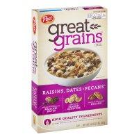 Post Selects Great Grains Raisins, Dates & Pecans Whole Grain Cereal 16oz Box product image