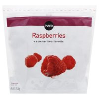 Store Brand Frozen Whole Red Raspberries 12oz Bag