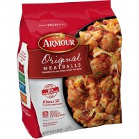 Armour Original Meatballs 25oz Bag