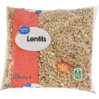 Store Brand Lentils - Dry 16oz Bag