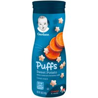 Gerber Graduates Puffs Sweet Potato  1.48oz PKG