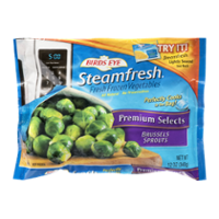 Birds Eye Steamfresh Premium Select Brussel Sprouts 12oz Bag