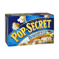Pop-Secret Microwave Popcorn Homestyle 3CT of 3.2oz Bags