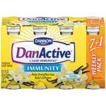 Dannon DanActive Immunity Drinkable Yogurt Vanilla 8PK of 3.1oz EA product image