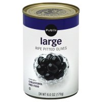Store Brand Olives Large Pitted 6oz Can