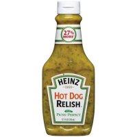 Heinz Hot Dog Relish 12.7oz BTL